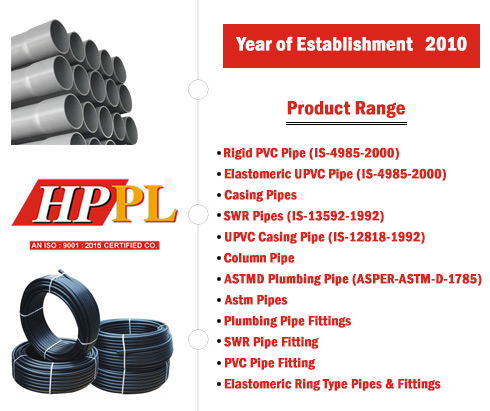 HDPE Pipes Manufacturers and Supplier in Jaipur, Rajasthan, India